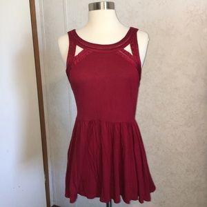 UO - Silence + Noise Cut Out Dress- Medium